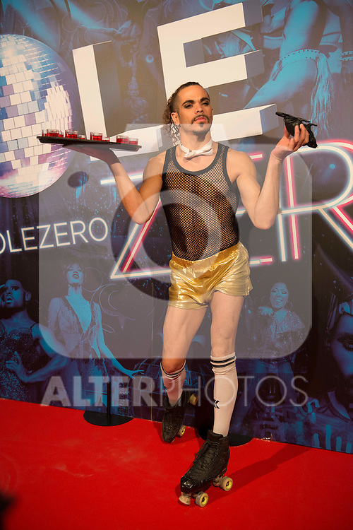 XXX attends to the premiere of the The Hole Zero Show at Teatro Calderon in Madrid. October 04, 2016. (ALTERPHOTOS/Borja B.Hojas)