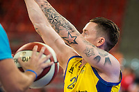 Fundosa ONCE's player Terry Bywater during the 3 shot contest of Supercopa of Liga Endesa Madrid. September 24, Spain. 2016. (ALTERPHOTOS/BorjaB.Hojas) NORTEPHOTO.COM