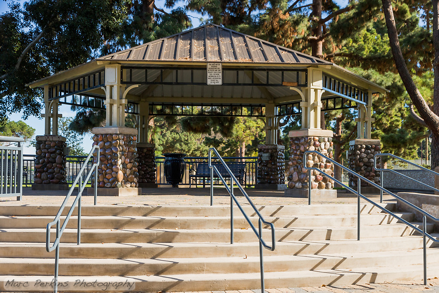 The bandstand at South Gate Park.