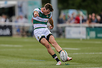 Peter Lydon of Ealing Trailfinders during the Friendly match between Ealing Trailfinders and Dragons  at Castle Bar , West Ealing , England  on 11 August 2018. Photo by David Horn / PRiME Media Images.