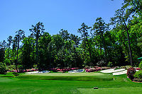 The 13th green during Wednesdays preview at the The Masters , Augusta National, Augusta, Georgia, USA. 10/04/2019.<br /> Picture Fran Caffrey / Golffile.ie<br /> <br /> All photo usage must carry mandatory copyright credit (&copy; Golffile | Fran Caffrey)