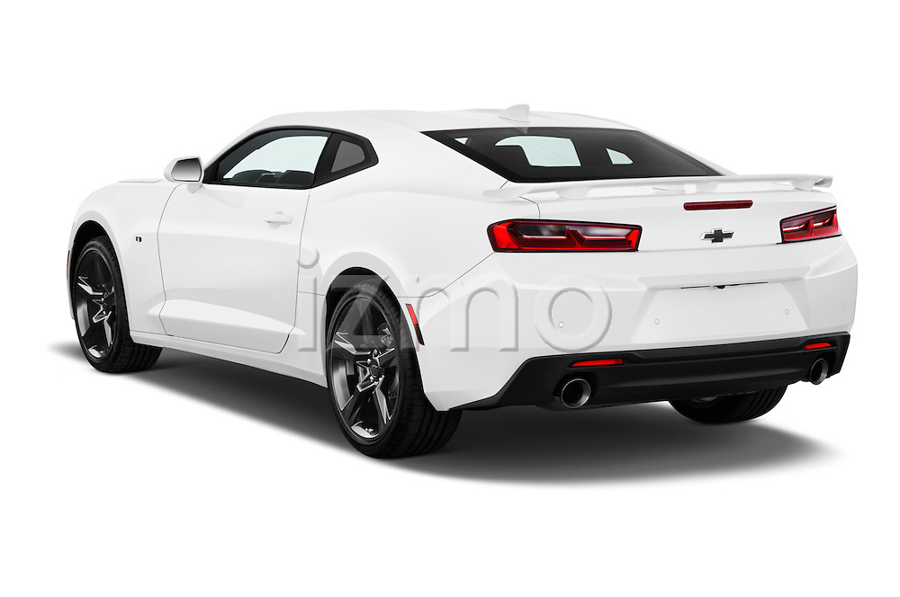 Car pictures of rear three quarter view of 2016 Chevrolet Camaro 2SS 2 Door Coupe Angular Rear