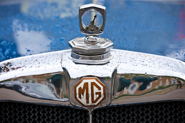 MG M 1930 car at classic car rally at Brize Norton in Oxfordshire, UK