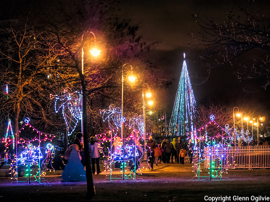 Thousands of people of all ages took part in the 33rd annual Celebration of Lights at Centennial Park.