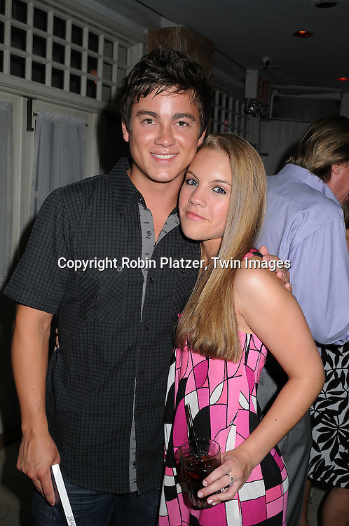 Brandon Buddy and Kristen Alderson .at The 19th Annual Marcia Tovsky Pre-Daytime Emmy Party on June 11, 2008 at Nikki Midtown in New York City. ..Robin Platzer, Twin Images