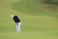 Brooks Koepka (USA) putts onto the 8th green during Sunday's Final Round of the 148th Open Championship, Royal Portrush Golf Club, Portrush, County Antrim, Northern Ireland. 21/07/2019.<br /> Picture Eoin Clarke / Golffile.ie<br /> <br /> All photo usage must carry mandatory copyright credit (© Golffile | Eoin Clarke)