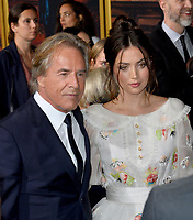 "LOS ANGELES, USA. November 15, 2019: Don Johnson & Ana de Armas  at the premiere of ""Knives Out"" at the Regency Village Theatre.<br /> Picture: Paul Smith/Featureflash"