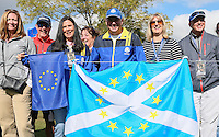 Team Europe supports out on the course during Thursday's Practice Round ahead of The 2016 Ryder Cup, at Hazeltine National Golf Club, Minnesota, USA.  29/09/2016. Picture: David Lloyd | Golffile.