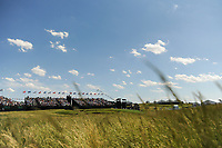 A wide look at the 9th green from the long rough during Thursday's round 1 of the 117th U.S. Open, at Erin Hills, Erin, Wisconsin. 6/15/2017.<br /> Picture: Golffile | Ken Murray<br /> <br /> <br /> All photo usage must carry mandatory copyright credit (&copy; Golffile | Ken Murray)