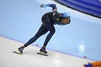 SCHAATSEN: HEERENVEEN: Thialf, World Cup, 02-12-11, 1500m A, Shani Davis USA, ©foto: Martin de Jong