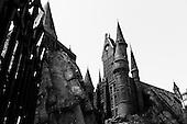 Orlando, Florida<br /> Universal Studios<br /> August 13, 2013<br />  <br /> Universal Studios - Hogwarts Harry Potter castle.