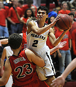 Boys basketball: Gentry vs Pea Ridge