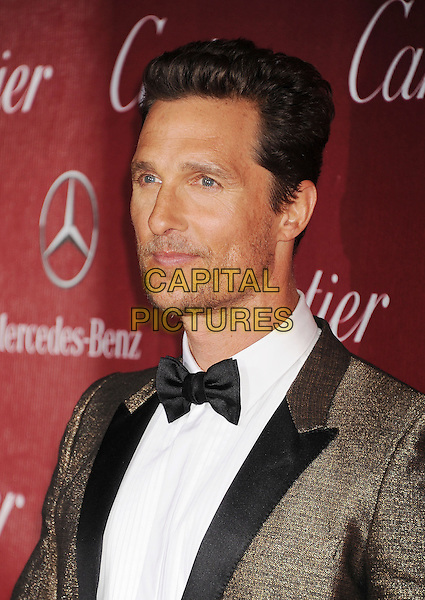PALM SPRINGS, CA- JANUARY 04: Actor Matthew McConaughey arrives at the 25th Annual Palm Springs International Film Festival Awards Gala at Palm Springs Convention Center on January 4, 2014 in Palm Springs, California.<br /> CAP/ROT/TM<br /> &copy;Tony Michaels/Roth Stock/Capital Pictures