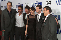 Cast of The Watch arrives at 'The Watch' Premiere Sponsored by AXE at Grauman's Chinese Theatre on July 23, 2012 in Hollywood, California MPI25 / Mediapunchinc /*NortePhoto.com*<br />