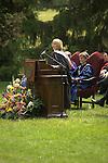 Magaret Venecek Johnson, President of Vassar College's Alumni Association, addresses Vassar's 2009 commencement