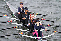 Crew: 275  Twickenham RC  Event: Girls J16 Quads<br /> <br /> Schools' Head of the River 2017<br /> <br /> To purchase this photo, or to see pricing information for Prints and Downloads, click the blue 'Add to Cart' button at the top-right of the page.