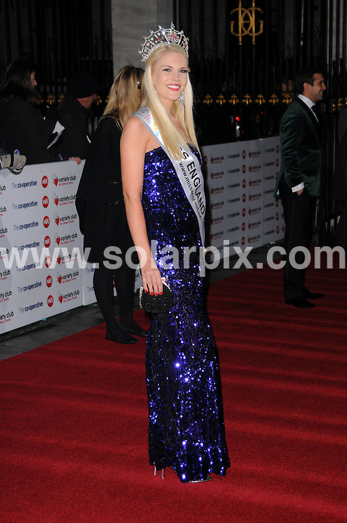 **ALL ROUND PICTURES FROM SOLARPIX.COM**                                             **WORLDWIDE SYNDICATION RIGHTS**                                                                                  Caption: attends the Variety Club Showbiz Awards at Grosvenor House, London, UK. 14 November 2010                                                              This pic: Jessica Linley                         JOB REF: 12478 MSR       DATE: 14_11_2010                                                           **MUST CREDIT SOLARPIX.COM OR DOUBLE FEE WILL BE CHARGED**                                                                      **MUST AGREE FEE BEFORE ONLINE USAGE**                               **CALL US ON: +34 952 811 768 or LOW RATE FROM UK 0844 617 7637**
