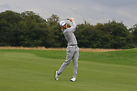 Jens Dantorp (SWE) on the 2nd fairway during Round 1 of the Bridgestone Challenge 2017 at the Luton Hoo Hotel Golf &amp; Spa, Luton, Bedfordshire, England. 07/09/2017<br /> Picture: Golffile | Thos Caffrey<br /> <br /> <br /> All photo usage must carry mandatory copyright credit     (&copy; Golffile | Thos Caffrey)