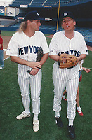 New York City<br /> 1992 <br /> Donald Trump Michael Bolton<br /> Photo By John Barrett-PHOTOlink.net/MediaPunch