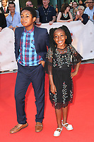ISAAC BROWN AND SERENITY BROWN - RED CARPET OF THE FILM 'KINGS' - 42ND TORONTO INTERNATIONAL FILM FESTIVAL 2017