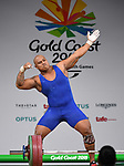 09/04/2018 - Weightlifting - Gold Coast 2018 - Commonwealth Games - Queensland - Australia