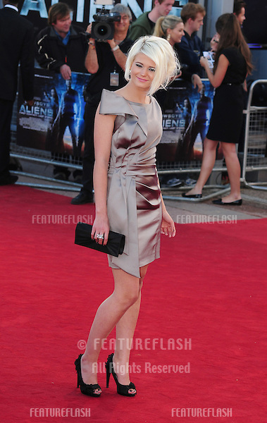 "Danielle Harold arrives for the premiere of ""Cowboys and Aliens"" at the 02 cineworld cinema, London. 11/08/2011 Picture by: Simon Burchell / Featureflash"