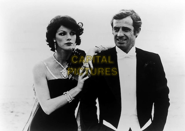 Anny Duperey, Jean-Paul Belmondo <br /> in Stavisky... (1974) <br /> *Filmstill - Editorial Use Only*<br /> CAP/FB<br /> Image supplied by Capital Pictures