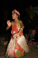 Traditional Dancer in Tonga
