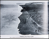 BNPS.co.uk (01202 558833)<br /> Pic: PhilYeomans/BNPS<br /> <br /> Aerial view of the Seven Sisters near Eastbourne..<br /> <br /> Chilling - Hitlers 'How to' guide to the invasion of Britain.<br /> <br /> A remarkably detailed invasion plan pack of Britain has been unearthed to reveal how our genteel seaside resorts would have been in the front line had Hitler got his way in World War Two.<br /> <br /> The Operation Sea Lion documents, which were issued to German military headquarters' on August 1, 1940, contain numerous maps and photos of every town on the south coast.<br /> <br /> They provide a chilling reminder of how well prepared a German invading force would have been had the Luftwaffe not been rebuffed by The Few in the Battle of Britain.<br /> <br /> There is a large selection of black and white photos of seaside resorts and notable landmarks stretching all the way from Land's End in Cornwall to Broadstairs in Kent.<br /> <br /> The pack also features a map of Hastings, raising the possibility that a second battle could have been staged there, almost 900 years after the invading William The Conqueror triumphed in 1066.