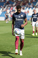 Vadaine Oliver of Northampton Town during Colchester United vs Northampton Town, Sky Bet EFL League 2 Football at the JobServe Community Stadium on 24th August 2019