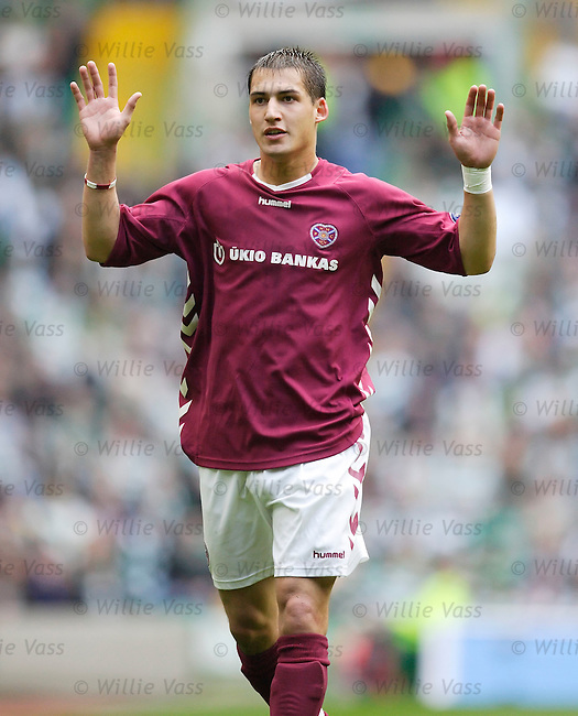 Rudi Skacel, Hearts.stock season 2005-2006.pic willie vass