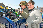 Listowel Army, Agri & Vintage Day : Attending the Listowel Army, Agri, & Vintage Day on Sunday last were Nicky Power & Cian Gorey, Camp.