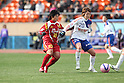 Shinobu Ono (Leonessa), Mizuho Sakaguchi (Albirex Ladies),.JANUARY 1, 2012 - Football / Soccer :.33rd All Japan Women's Football Championship final match between INAC Kobe Leonessa 3-0 Albirex Niigata Ladies at National Stadium in Tokyo, Japan. (Photo by Toshihiro Kitagawa/AFLO)