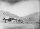 Colorado Midland depot and pavilion.<br /> Colorado Midland