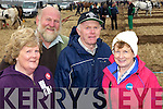 Noreen and Michael Griffin Ballyheigue and Jimmy and Mai Shanahan, Ballyroe pictured at the National Ploughing Championship on Wednesday.