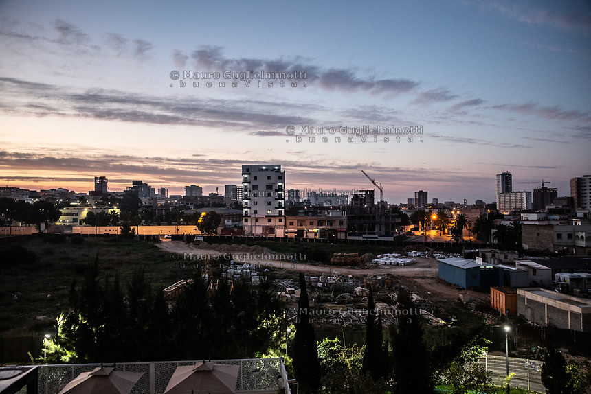 Oran, Paesaggio notturno Night City Landscape