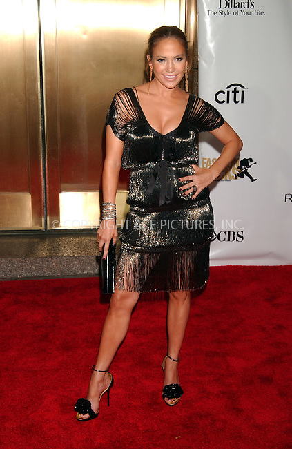 WWW.ACEPIXS.COM . . . . . ....September 6 2007, New York City....Jennifer Lopez arriving at the Conde Nast Media Group's 4th Annual Fashion Rocks Concert at Radio City in midtown Manhattan.....Please byline: KRISTIN CALLAHAN - ACEPIXS.COM.. . . . . . ..Ace Pictures, Inc:  ..tel: (646) 679 0430..e-mail: picturedesk@acepixs.com..web: http://www.acepixs.com