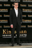 "Colin Firth attend the ""Kingsman"" Movie Presentation at Villa Magna Hotel, Madrid,  Spain. February 06, 2015.(ALTERPHOTOS/)Carlos Dafonte) /NORTEphoto.com"
