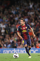 02/09/2012 - Liga Football Spain, FC Barcelona vs. Valencia CF Matchday 3 - Jordi Alba with his new team FC Barcelona against his old team VAlencia CF