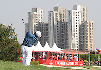 Chapchai Nirat (THA) on the 18th during Round 3 of the 2013 Avantha Masters, Jaypee Greens Golf Club, Greater Noida, Delhi, 16/3/13..(Photo Jenny Matthews/www.golffile.ie)