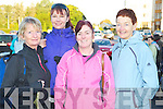 Enjoying the annual walk of the Old Kenmare Road on Sunday in aid of the South Kerry branch of MS Ireland were Bernie Lucey, Catherine Gleeson, Josie Reen and Maria Davidson. ................................