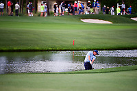 Phil Mickelson (USA) hits his approach shot on 12 during round 1 of the Shell Houston Open, Golf Club of Houston, Houston, Texas, USA. 3/30/2017.<br /> Picture: Golffile | Ken Murray<br /> <br /> <br /> All photo usage must carry mandatory copyright credit (&copy; Golffile | Ken Murray)