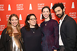 Clare Lizzimore, Gayle Taylor Upchurch, Rebecca Hall and Morgan Spector attends the Opening Night of the Atlantic Theater Company's New York Premier play 'Animal' at Jake's Saloon on June 6, 2017 in New York City.
