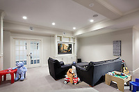 Take play time to the next level with a high tech playroom.