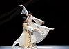 National Ballet of China <br /> The Peony Pavillion <br /> at Sadler's Wells, London, Great Britain <br /> press photocall / rehearsal <br /> 29th November 2016 <br /> <br /> Zhu Yan as Du Liniang <br /> <br /> Ma Xiaodong as Liu Mengmei <br /> <br /> <br /> <br /> <br /> Photograph by Elliott Franks <br /> Image licensed to Elliott Franks Photography Services