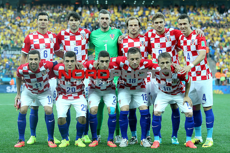2014 Fifa World Cup opening game from group A against Brazil and Croatia.<br /> <br /> Team Kroatien<br /> <br /> <br /> <br /> Foto &copy;  nph / PIXSELL / Sajin Strukic