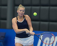 Rotterdam, Netherlands, December 15, 2016, Topsportcentrum, Lotto NK Tennis,  Kelly Versteeg (NED)<br /> Photo: Tennisimages/Henk Koster