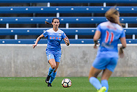 Bridgeview, IL - Wednesday August 16, 2017: Taylor Comeau during a regular season National Women's Soccer League (NWSL) match between the Chicago Red Stars and the Seattle Reign FC at Toyota Park. The Seattle Reign FC won 2-1.
