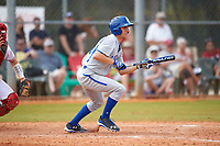 Seton Hall Pirates left fielder Jackson Martin (16) during a game against the Indiana Hoosiers on March 5, 2016 at North Charlotte Regional Park in Port Charlotte, Florida.  Seton Hall defeated Indiana 6-4.  (Mike Janes/Four Seam Images)