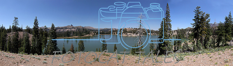 Upper Sunset Lake in Alpine County, Ca.,  on Wednesday, Aug. 10, 2011..Photo by Cathleen Allison